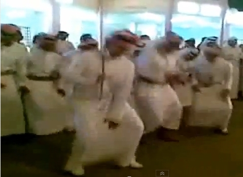 jews and arabs dancing