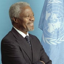 United Nations Secretary-General Kofi Annan. (UN)