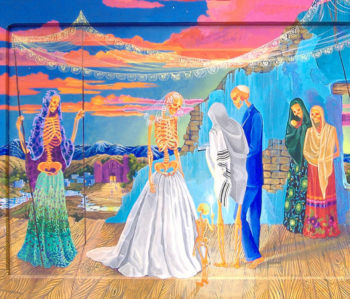 A crypto-Jewish secret wedding by Anita Rodriguez.  (Anita Rodriguez)