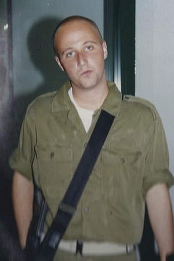 The Australian Broadcasting Corp,'s investigation alleged that Ben Zygier, seen here in his Israeli army uniform, was a Mossad agent but offered no proof.   (Photo supplied)