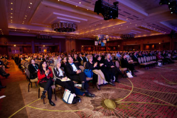 Opening day of the General Assembly of The Jewish Federations of North America in Denver, Nov. 6, 2011. (Eric Stephenson for JFNA)