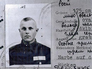 A photo of John Demjanjuk, circa 1943, the year he is accused of being an accessory to the murder of 29,700 Jews at the Sobibor death camp in Poland. (El1604 / Wikimedia Commons)