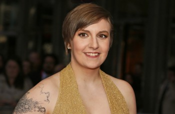 """Lena Dunham arriving at the red carpet of the """"Time 100 Most Influential People in the World"""" Gala, April 23, 2013"""