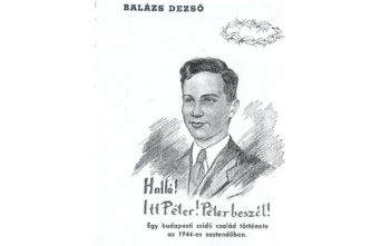 """Sketch of Peter Balazs, an 18-year-old Jew who was murdered in 1944 in Hungary, allegedly by Karoly """"Charles"""" Zentai.   ()"""