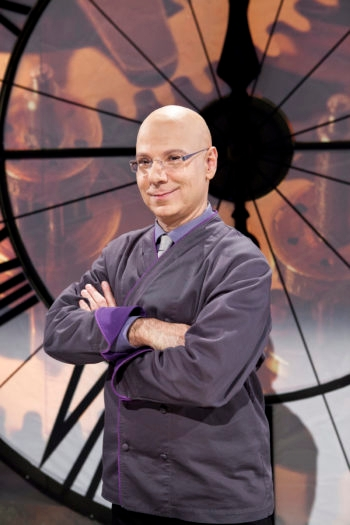 """Ron Ben-Israel, a former dancer, has gone on to become the host of Food Network's """"Sweet Genius.""""  (Food Network)"""