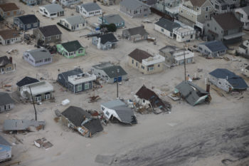 Jewish Federations of North America, with its General Assembly nearing, rallied from the crisis brought on by Hurricane Sandy.  (Courtesy U.S. Fish and Wildlife Service - Northeast Region)
