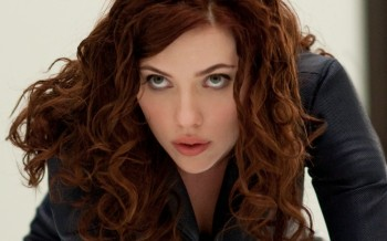 Scarlett Johansson as 'Black Widow' in the new movie 'The Avengers.' (Courtesy Paramount Pictures)