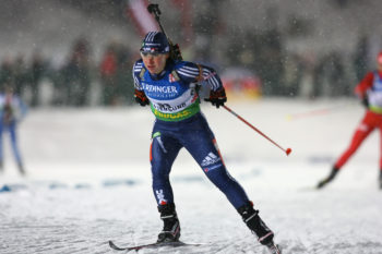 """Laura Spector discovered biathlon at 14, saying """"It was my first experience with shooting a gun, but I loved combining two sports."""" (Nordic Focus)"""