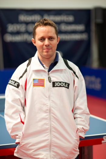 Israeli-born table tennis player Tahl Leibovitz is competing for the U.S. team in the 2012 Paralympic Games in London.  (USA Table Tennis)