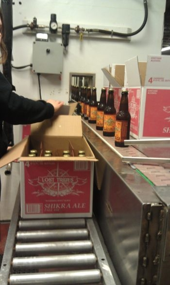 Lost Tribes makes and packages its product at its brewery in upstate New York.  (Courtesy Lost Tribes Brew)
