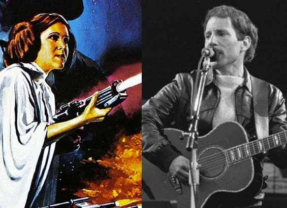 That Time Princess Leia Married Paul Simon