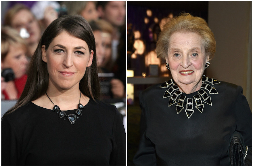 Madeleine Albright and Mayim Bialik ready to become Muslim