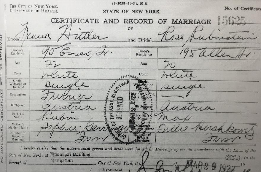Jews marriage dating new york